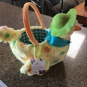 Hallmark Chicken Easter Basket-New